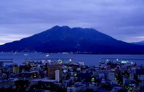桜島(2) (城山 / 鹿児島)